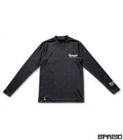 GE-0390-02 スタードットインナーシャツ BLACK