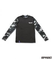 GE-0389-02 CAMUFFAMENTOインナーシャツ BLACK