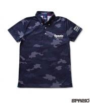 TP-0492-21 CAMUFFAMENTOポロシャツ NAVY