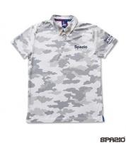 TP-0492-01 CAMUFFAMENTOポロシャツ WHITE