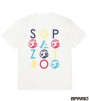 GE-0470-01 ルーボプラTシャツ White