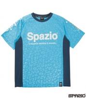 GE-0444-48 レオパードエンボスプラシャツ Turquoise