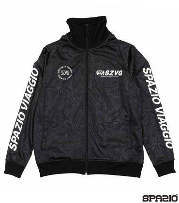 SpazioViaggioエンボストレーニングジャケット
