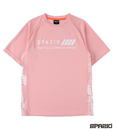 Jr.接触冷感Spazioロゴプラシャツ