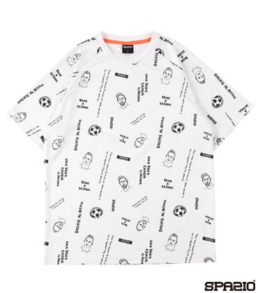 ナノファインレジェンド総柄プラシャツ