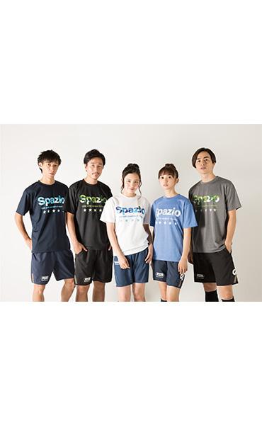 マーブルロゴプラTシャツ