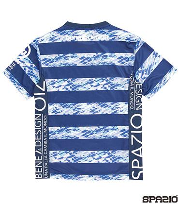 カモフラボーダープラクティスシャツ