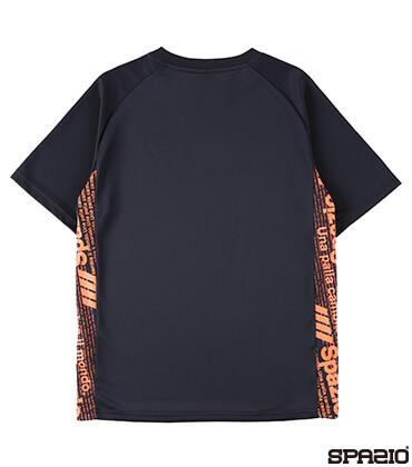 接触冷感Spazioロゴプラシャツ