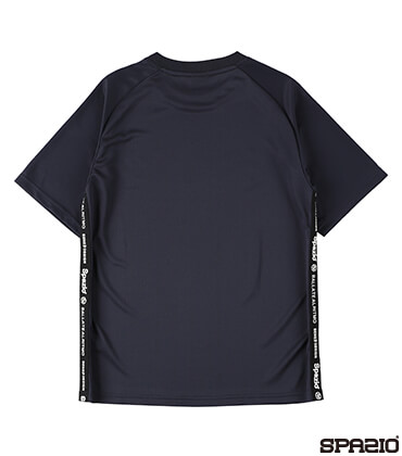 接触冷感ロゴテーププラシャツ