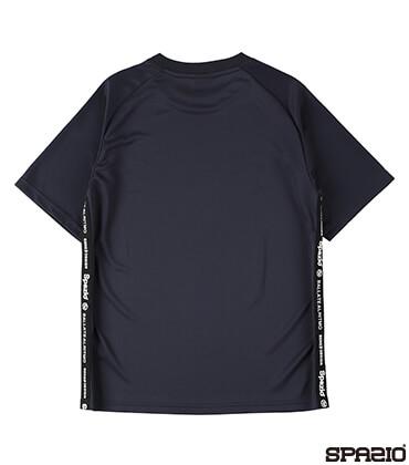 Jr.接触冷感ロゴテーププラシャツ