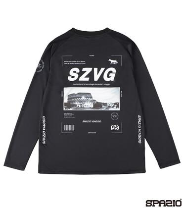 VIAGGIOコロッセオロングプラシャツ