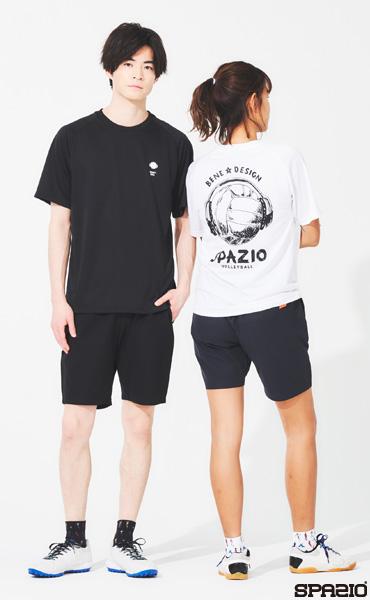 バレーボールヘッドフォンプラシャツ