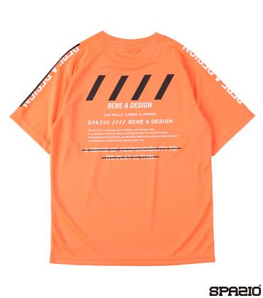 ジュニアバックプリントプラシャツ