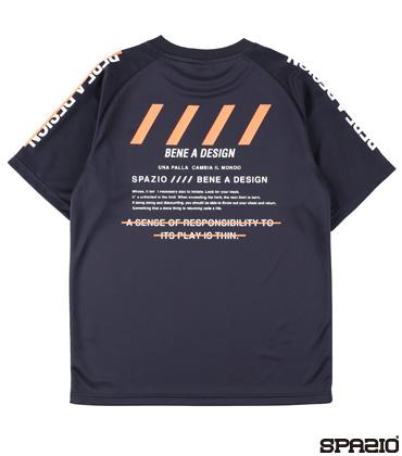 バックプリントプラシャツ