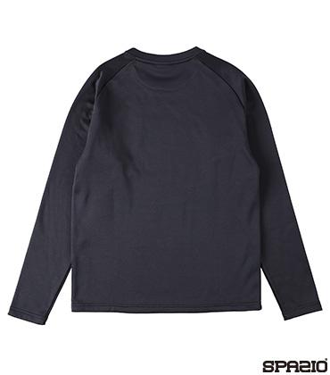 ジュニア裏起毛ロングTシャツ
