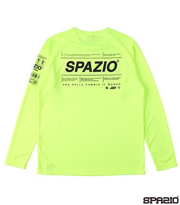 Spazioロゴロングプラシャツ